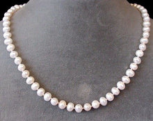 Load image into Gallery viewer, Adjustable 16 to 19 inch Creamy White FW Pearl and 14Kt Gf Necklace 200038 - PremiumBead