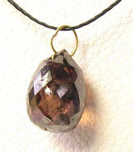 Load image into Gallery viewer, 1 Chocolate Diamond 2.05cts Briolette 18K Pendant 10370E - PremiumBead