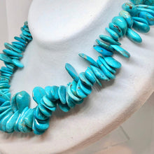 Load image into Gallery viewer, Designer Turquoise Pear Briolette Bead Strand 106751D - PremiumBead Alternate Image 3