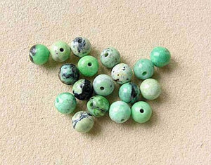 Mojito Minty Green Turquoise 5.5mm Round Bead Strand 107415 - PremiumBead Alternate Image 3