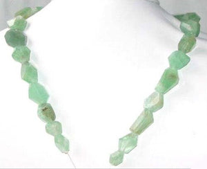 515cts Genuine Emerald Custom Cut Bead Strand 108733 - PremiumBead