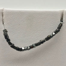 Load image into Gallery viewer, 22cts Natural Black Diamond Cube Bead Strand 108954A - PremiumBead Alternate Image 9