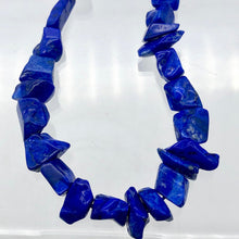 Load image into Gallery viewer, Intense! Natural Gem Quality Lapis Lazuli Bead Strand!| 46 beads | 11x10x6mm |