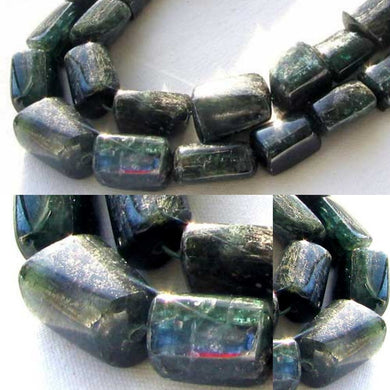 Fab Midnight Teal Kyanite Graduated Bead Strand 109346 - PremiumBead