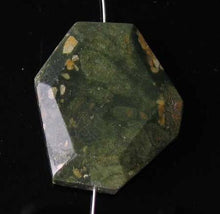 Load image into Gallery viewer, Designer Rainforest Jasper Rhyolite Pendant Bead 9655BH - PremiumBead