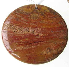 Load image into Gallery viewer, Outback 50mm Red Druzy Ocean Jasper Centerpiece Bead 9105A - PremiumBead Primary Image 1