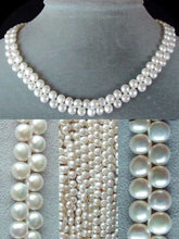 Load image into Gallery viewer, Divine top-Drilled Creamy White Pearl Strand 104762 - PremiumBead Alternate Image 5
