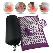 Load image into Gallery viewer, Acupressure Lotus Mat Set