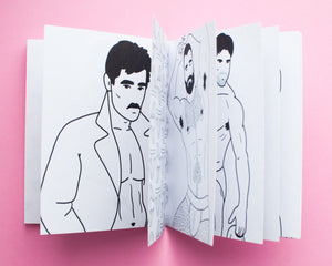 Hunks - Coloring Zine