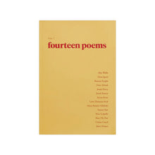 Load image into Gallery viewer, FOURTEEN POEMS, Issue One