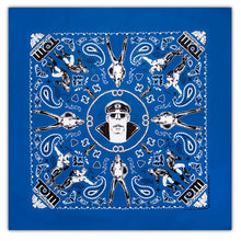 Load image into Gallery viewer, Tom of Finland Bandana - Royal Blue