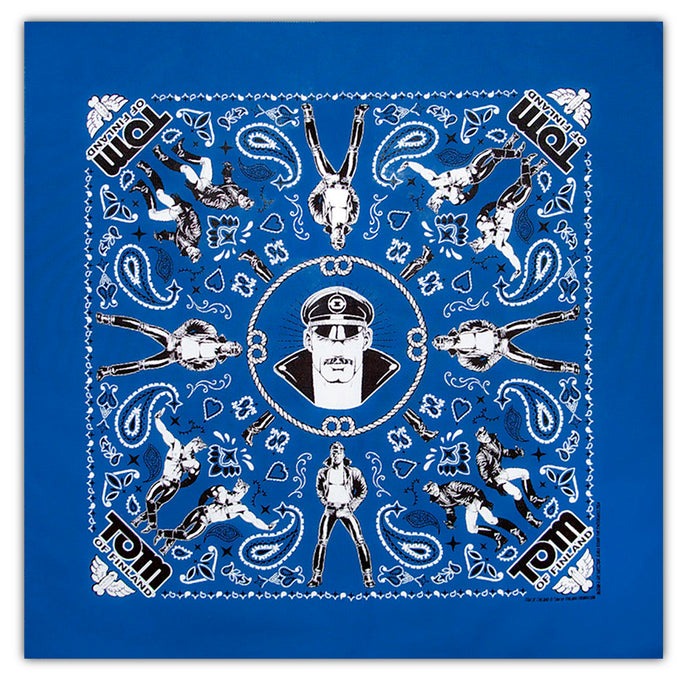 Tom of Finland Bandana - Royal Blue