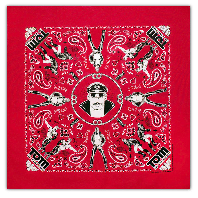 Tom of Finland Bandana - Red