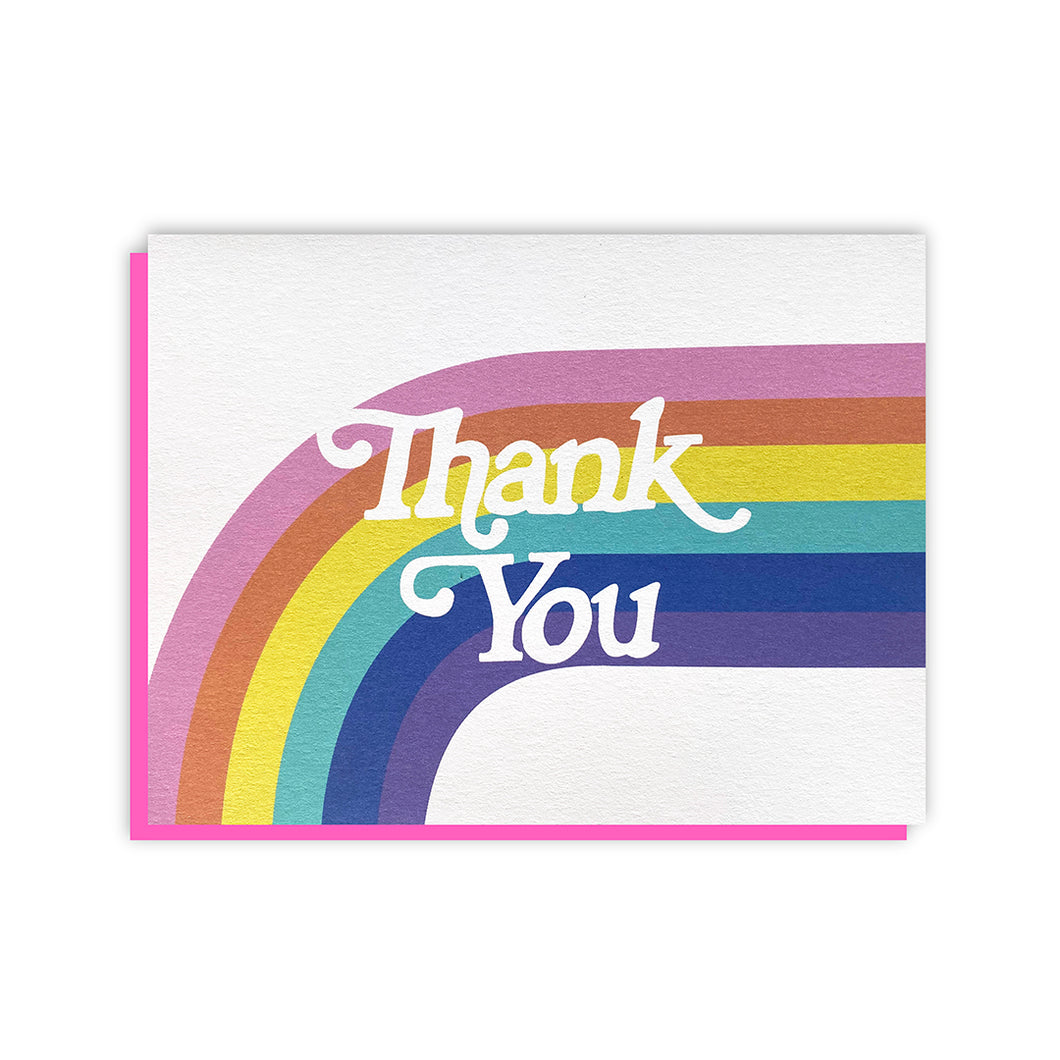 Thank You - Rainbow