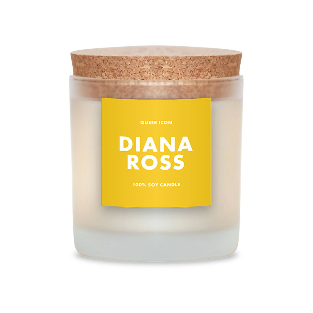 Diana Ross Candle