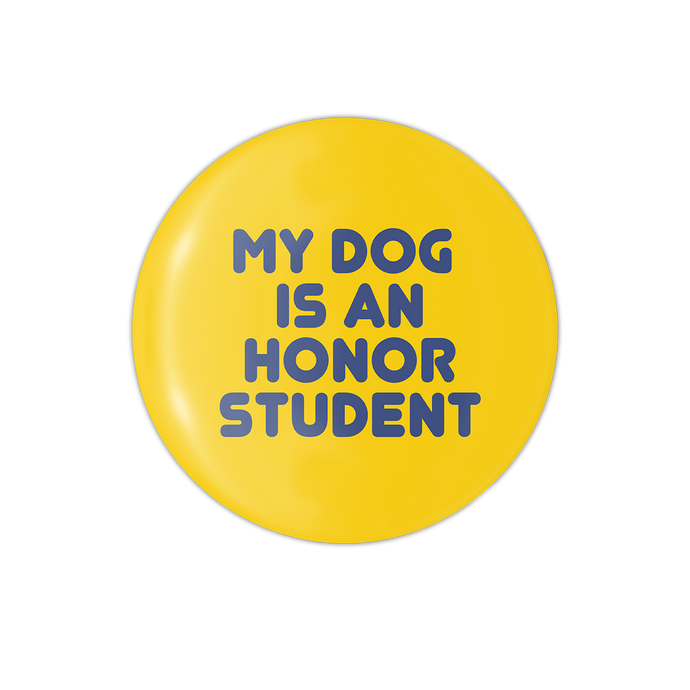 My Dog is an Honor Student