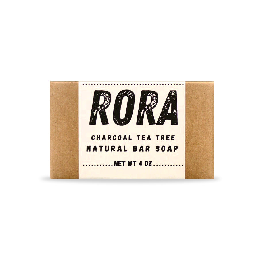 Charcoal Tea Tree Bar Soap