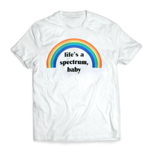Load image into Gallery viewer, Life's a Spectrum, Baby Tee