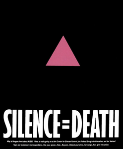 Protest Print: White Silence = Black Death