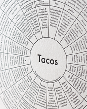 Load image into Gallery viewer, Tacos Print
