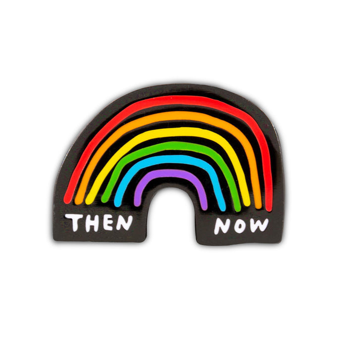 Then / Now Rainbow