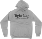 LIGHT KING // Define - Heather Grey Hoodie