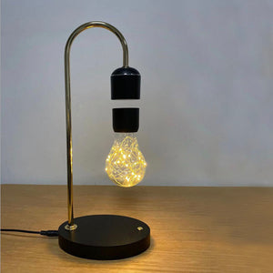 Magnetic Levitating Lamp with Wireless Charging - Mate Stores AU