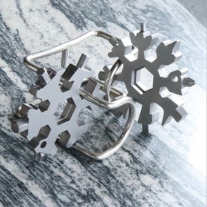 Multi-tool Combination Compact Portable Snowflake Tool Card - Mate Stores AU