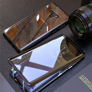 Samsung Magnetic Phone Case/ Anti-peering Double Protective Glass Cover - Mate Stores AU