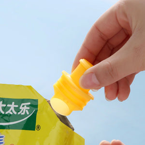 Sealing Cover Plastic Bag With Lid Sealing Clip Sealing Nozzle Moist - Mate Stores AU