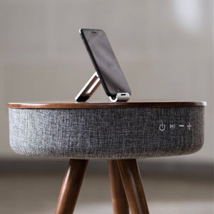 Smart Coffee Table with Bluetooth Speaker and Wireless Charging - Mate Stores AU