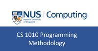 NUS CS notes(self-made) : CS1010 Programming Methodology