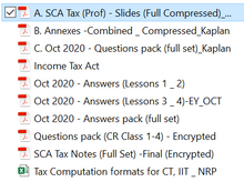 Load image into Gallery viewer, SQP / SCAQ Professional Taxation Latest Syllabus