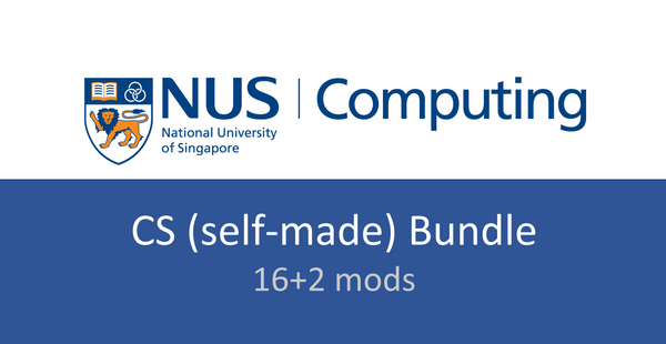 NUS CS notes(self-made) bundle