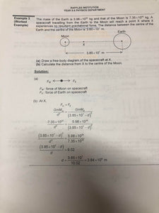 RJC H2 Physics Lecture Notes ( 2018-2019 )