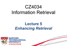 Load image into Gallery viewer, Infomation Retrieval NTU CS(COMPLETE) notes 2019 CZ4034