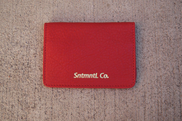 CARD WALLET (RED)