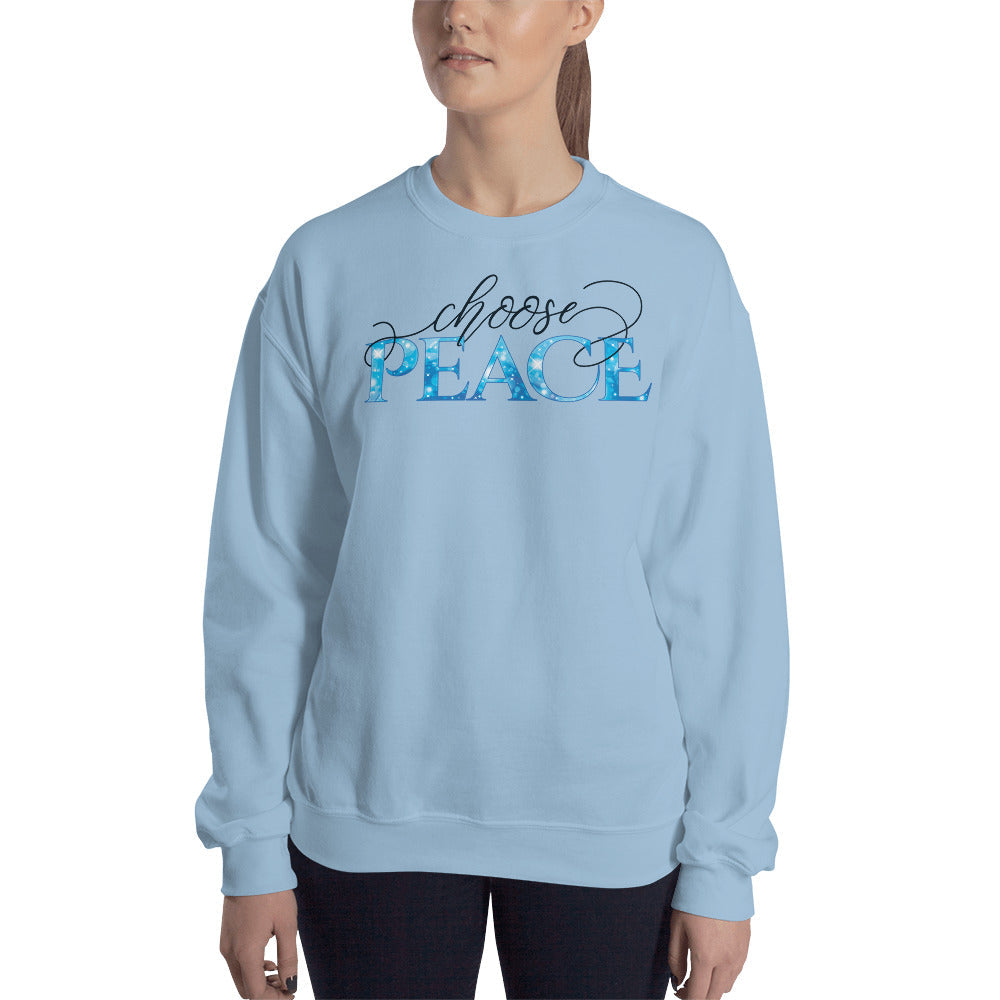 Choose Peace Sweatshirt