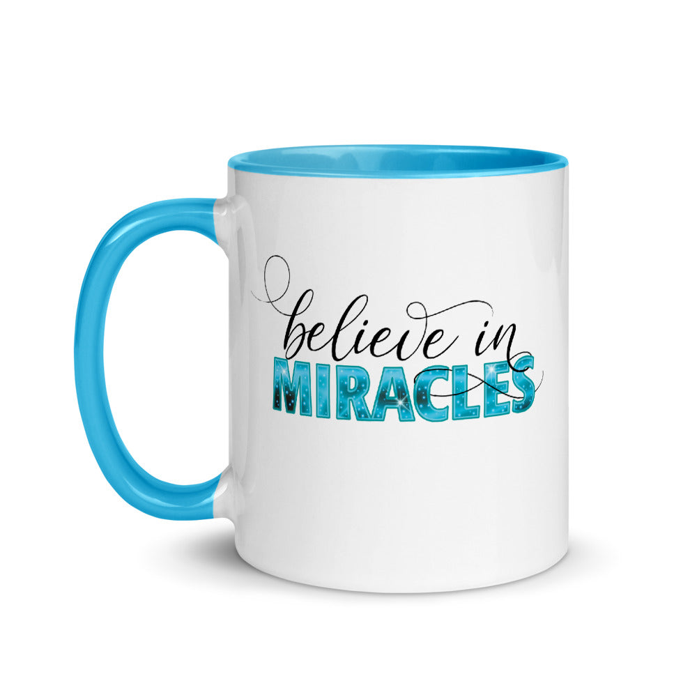 Believe in Miracles Color Mug