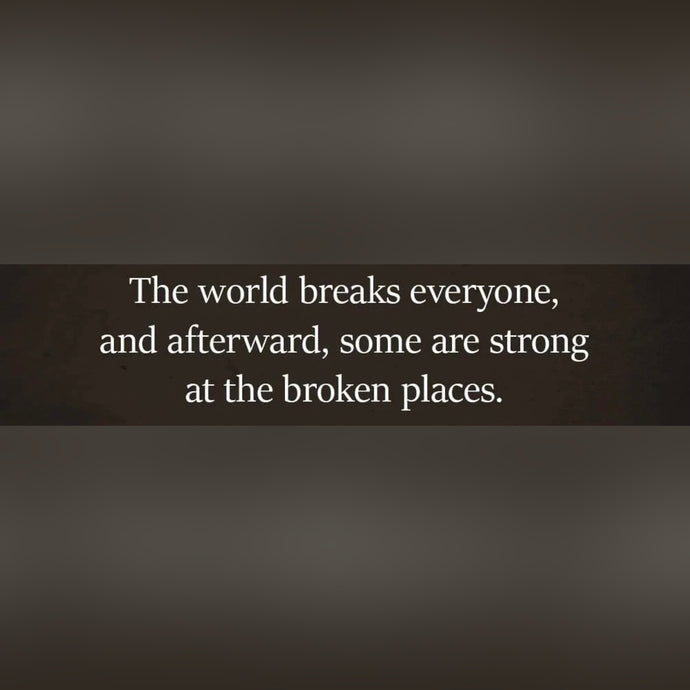 Broken Places ⚡️