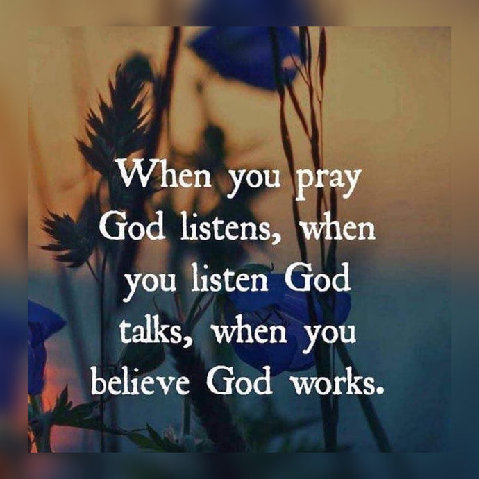 Pray And Believe 🙏🏾