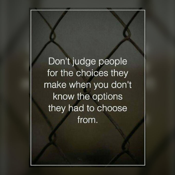 Don't Judge People ⚡️