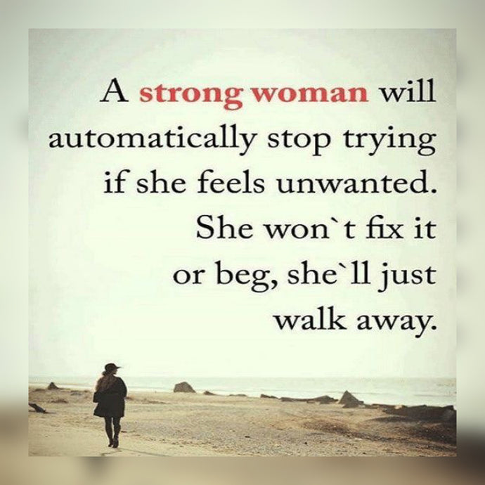 A Strong Woman Will ⚡️