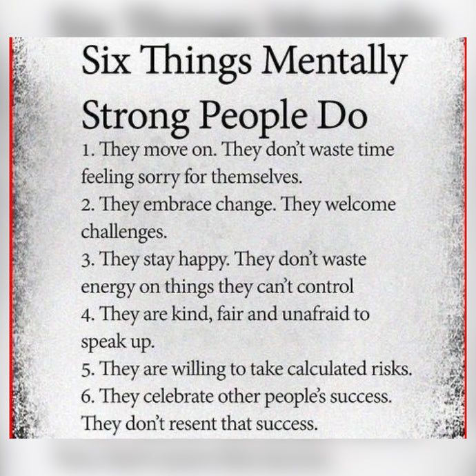 Mentally Strong People ⚡️