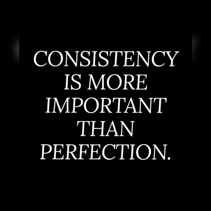 Consistency Is More ⚡️