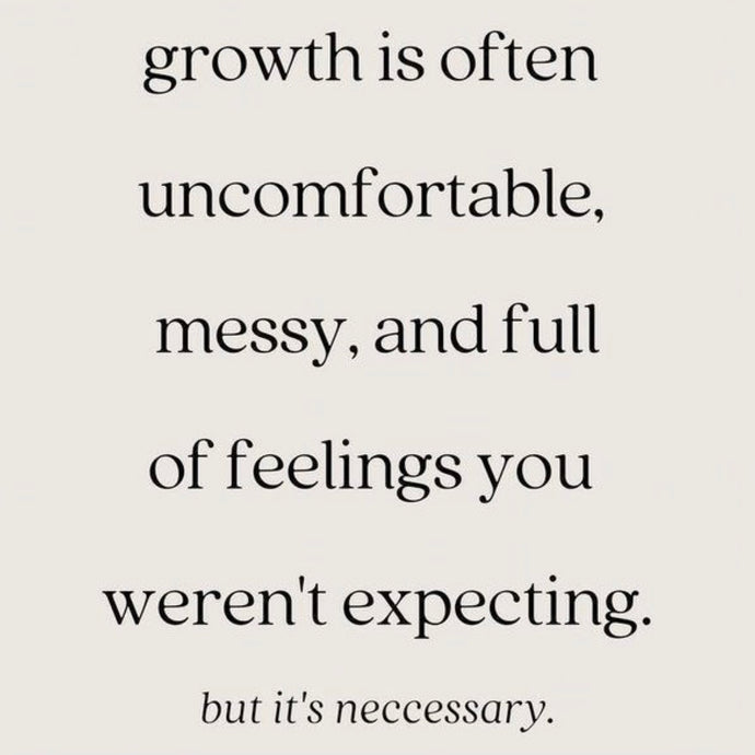 Growth Is Uncomfortable ⚡️