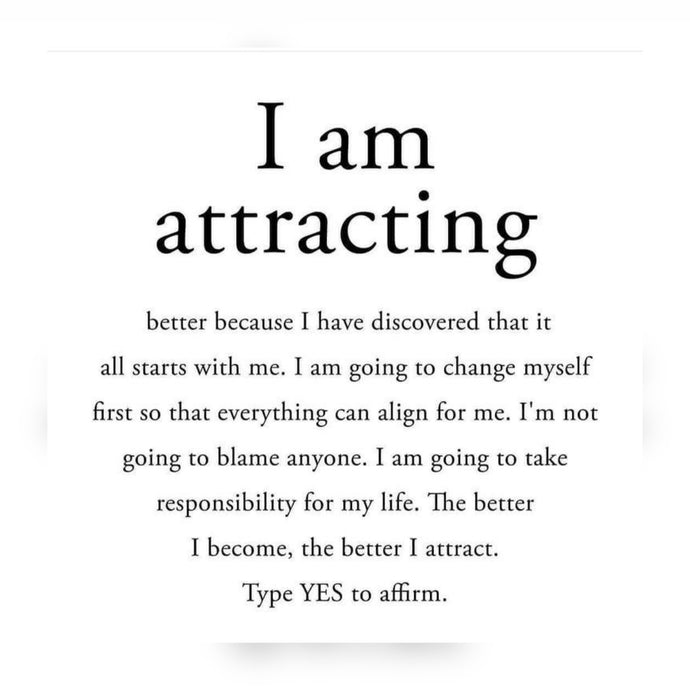 I Am Attracting ⚡️