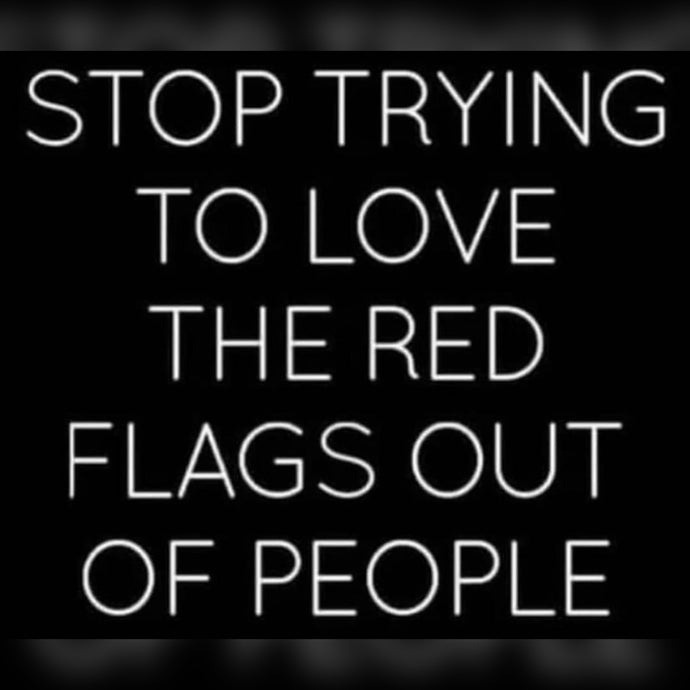 Loving Red Flags ⚡️