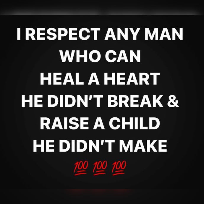 Respect Any Man Who ⚡️