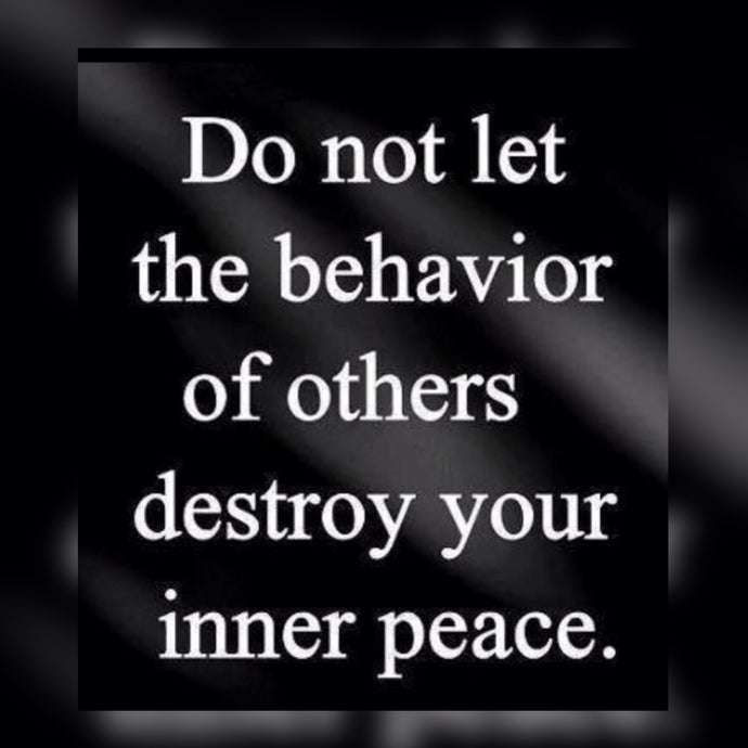 Destroy Your Inner Peace ⚡️